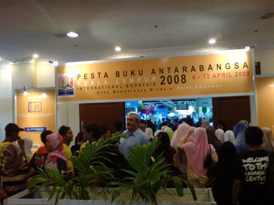 "KL International Book Fair 2008 - ""Book Empowers"""