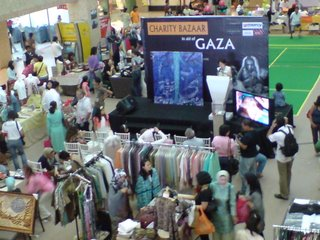 Charity Bazaar for Gaza, Bangsar