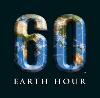 Earth Hour - 28 March!
