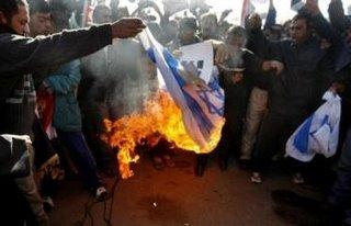 Protestors in Baghdad