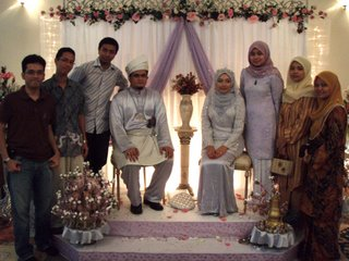 Faraha - Zul Azman wedding reception, Klang
