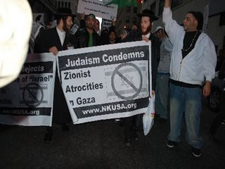 Anti Zionist Orthodox Jews