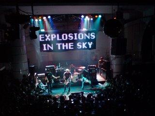 Explosions in the Sky live in KL II