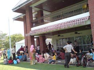 picnic at Tun Dr Mahathir's house