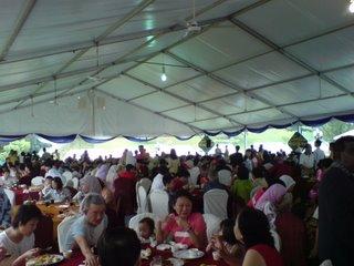 Mahathir's open house