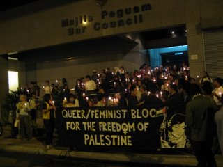 Queer/Feminist Bloc for the Freedom of Palestine